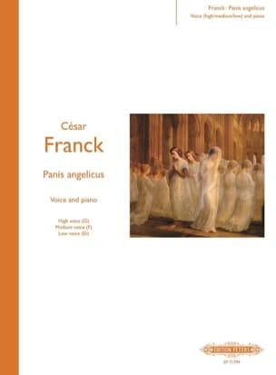 Panis Angelicus - FRANCK - Partition - Mélodies - laflutedepan.com