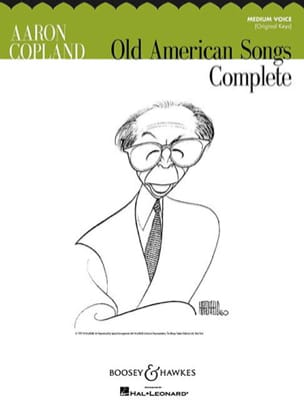 Copland Aaron - Old American Songs. Mean Voice - Sheet Music - di-arezzo.com