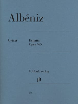 Isaac Albeniz - España Opus 165 - Sheet Music - di-arezzo.co.uk