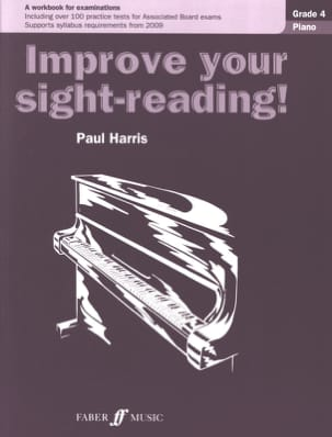 Improve Your Sight-Reading Grade 4 Paul Harris Partition laflutedepan