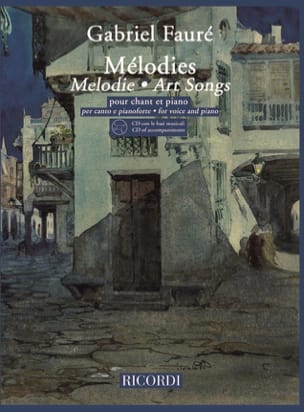 Gabriel Fauré - 20 Melodies. Aloud - Sheet Music - di-arezzo.co.uk