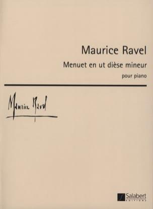 Menuet En Ut dièse Mineur - Maurice Ravel - laflutedepan.com
