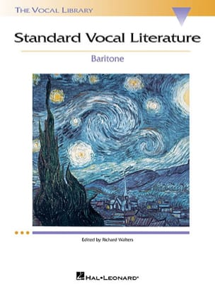Standard Vocal Literature. Baryton - Partition - laflutedepan.com