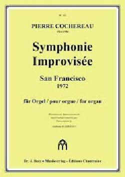 Symphonie Improvisée - Pierre Cochereau - Partition - laflutedepan.com