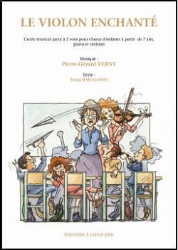 Le Violon Enchanté - Direction + CD Pierre-Gérard Verny laflutedepan