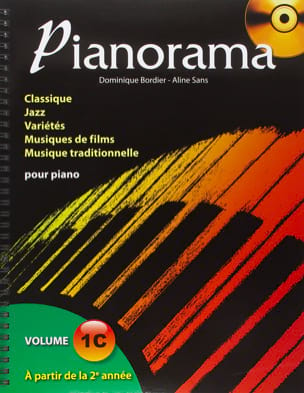 Pianorama 1C - Partition - Piano - laflutedepan.com