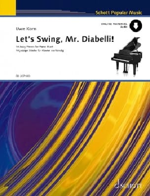 Uwe Korn - Let's Swing, Mr Diabelli. 4 Hands - Sheet Music - di-arezzo.co.uk