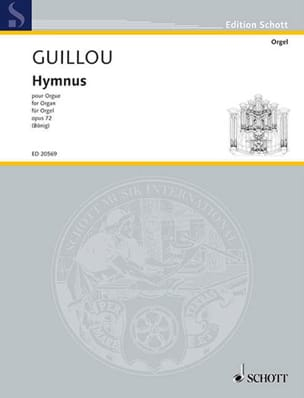 Hymnus Op. 72 Jean Guillou Partition Orgue - laflutedepan