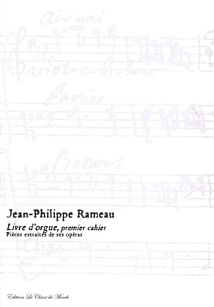 Jean-Philippe Rameau - Organ Book 1st Book - Sheet Music - di-arezzo.co.uk