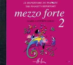 CD - Mezzo Forte 2 Partition Piano - laflutedepan