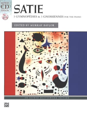 3 Gymnopédies And 3 Gnossiennes - Erik Satie - laflutedepan.com
