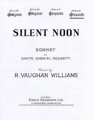 Silent Noon En Sol - Voix Haute WILLIAMS VAUGHAN laflutedepan
