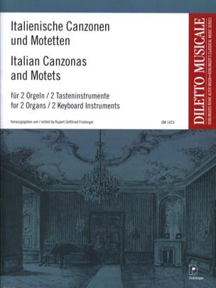 - Italienische Canzonen Und Motetten. 2 Organs - Sheet Music - di-arezzo.com