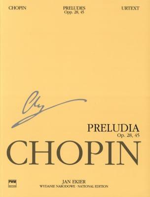 Frédéric Chopin - Préludes Opus 28 et 45 - Partition - di-arezzo.fr