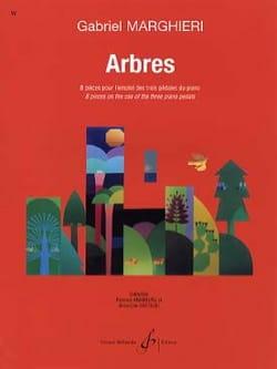 Gabriel Marghieri - Arbres - Partition - di-arezzo.fr