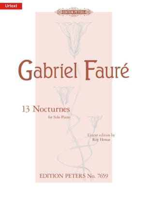 Gabriel Fauré - 13 Nocturnes - Sheet Music - di-arezzo.co.uk