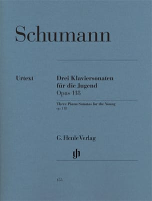 SCHUMANN - Drei Sonaten für die Jugend Opus 118 - Noten - di-arezzo.de