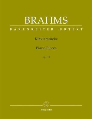 BRAHMS - Klavierstücke Opus 118 - Sheet Music - di-arezzo.com