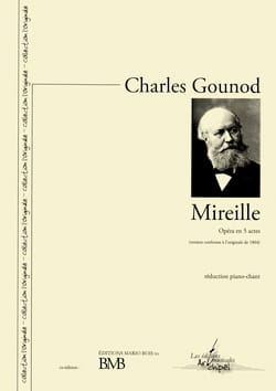 Charles Gounod - Mireille - Sheet Music - di-arezzo.co.uk