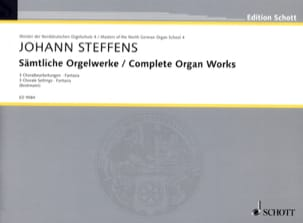 Johann Steffens - Sämtliche Orgelwerke - Partition - di-arezzo.fr