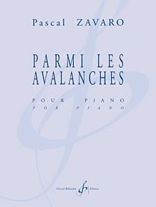 Pascal Zavaro - Of the Avalanches - Sheet Music - di-arezzo.co.uk