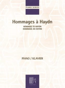 - Hommages à Haydn - Partition - di-arezzo.fr