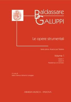Le Opere Strumentali. Volume 1 Baldassare Galuppi laflutedepan