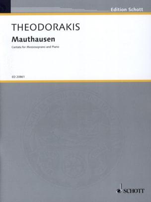 Mikis Theodorakis - Mauthausen - Partition - di-arezzo.fr