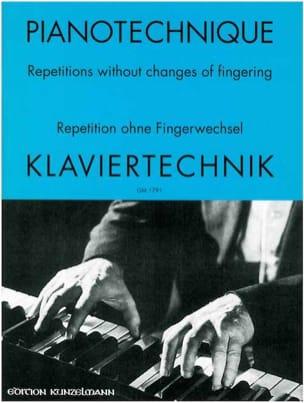 Klaviertechnik 1 - Nicolai Popov - Partition - laflutedepan.com