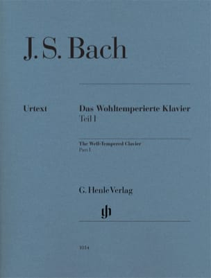 BACH - The Well Tempered Keyboard. Volume 1 - Partition - di-arezzo.co.uk