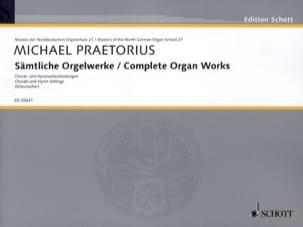 Michael Praetorius - Complete Organ Works - Partition - di-arezzo.fr