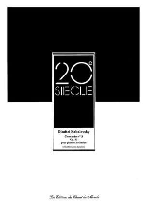 Concerto pour piano N° 3 Op. 50 - laflutedepan.com