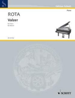 Nino Rota - Valzer - Sheet Music - di-arezzo.co.uk