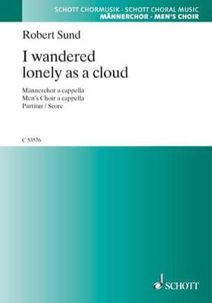 Robert Sund - I Wandered Lonely As A Cloud - Sheet Music - di-arezzo.com