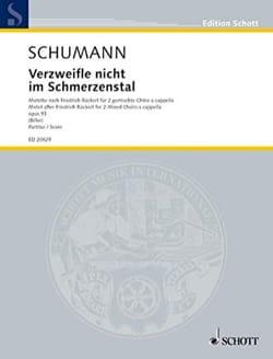 Verzweifle Nicht Im Schmerzenstal - SCHUMANN - laflutedepan.com