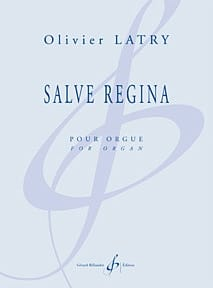 Olivier Latry - Salve Regina - Sheet Music - di-arezzo.com
