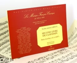 Nicolas Lebègue - Second Book of Clavessin - Sheet Music - di-arezzo.co.uk
