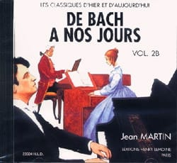 de Bach à nos Jours - Volume 2B - CD - laflutedepan.com