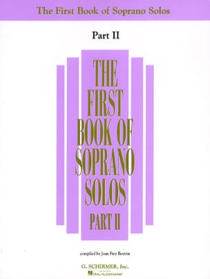 - The First Book Of Soprano Solos - Part 2 - Partition - di-arezzo.fr