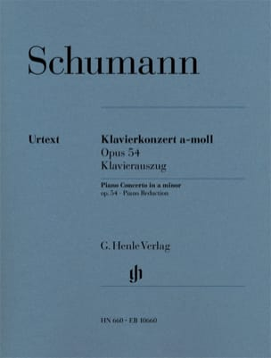 SCHUMANN - Piano Concerto In The Minor Opus 54 - Sheet Music - di-arezzo.com