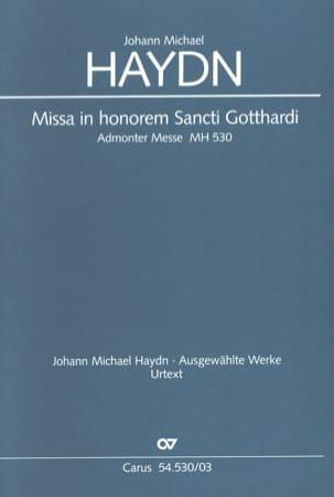 Missa In Honorem Sancti Gotthardi - HAYDN - laflutedepan.com