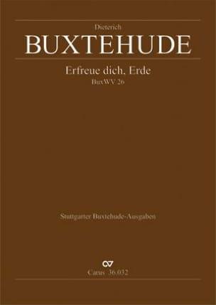 Dietrich Buxtehude - Erfreue Dich, Erde - Partition - di-arezzo.fr
