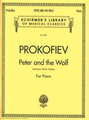 Sergei Prokofiev - Pierre et le Loup - Partition - di-arezzo.fr