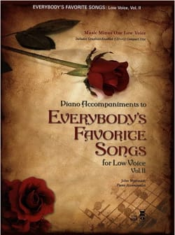 - Everybody's Favorite Volume 2 + CD. Voix grave - Partition - di-arezzo.fr