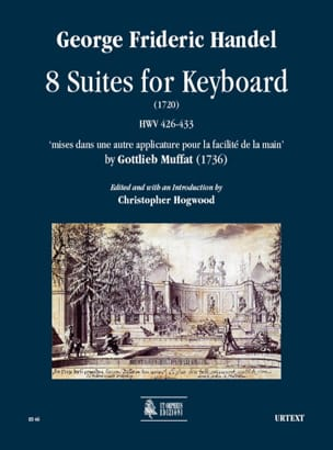 8 Suites For Keyboard HAENDEL Partition Clavecin - laflutedepan