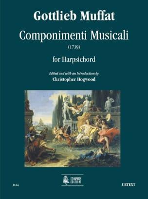 Componimenti Musicali 1739 Gottlieb Muffat Partition laflutedepan