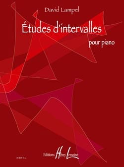 Etudes D'intervalles David Lampel Partition Piano - laflutedepan