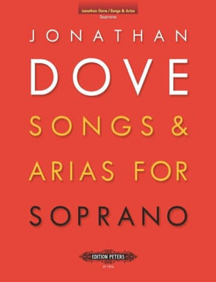 Jonathan Dove - Songs and Arias For Soprano - Sheet Music - di-arezzo.com