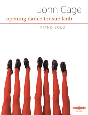 John Cage - Opening Dance For Sue Laub - Partition - di-arezzo.fr