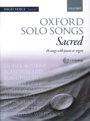 - Oxford Solo Songs Sacred High Voices - Sheet Music - di-arezzo.co.uk